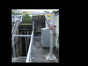 Multisafe als Personensicherung am Schachtbauwerk